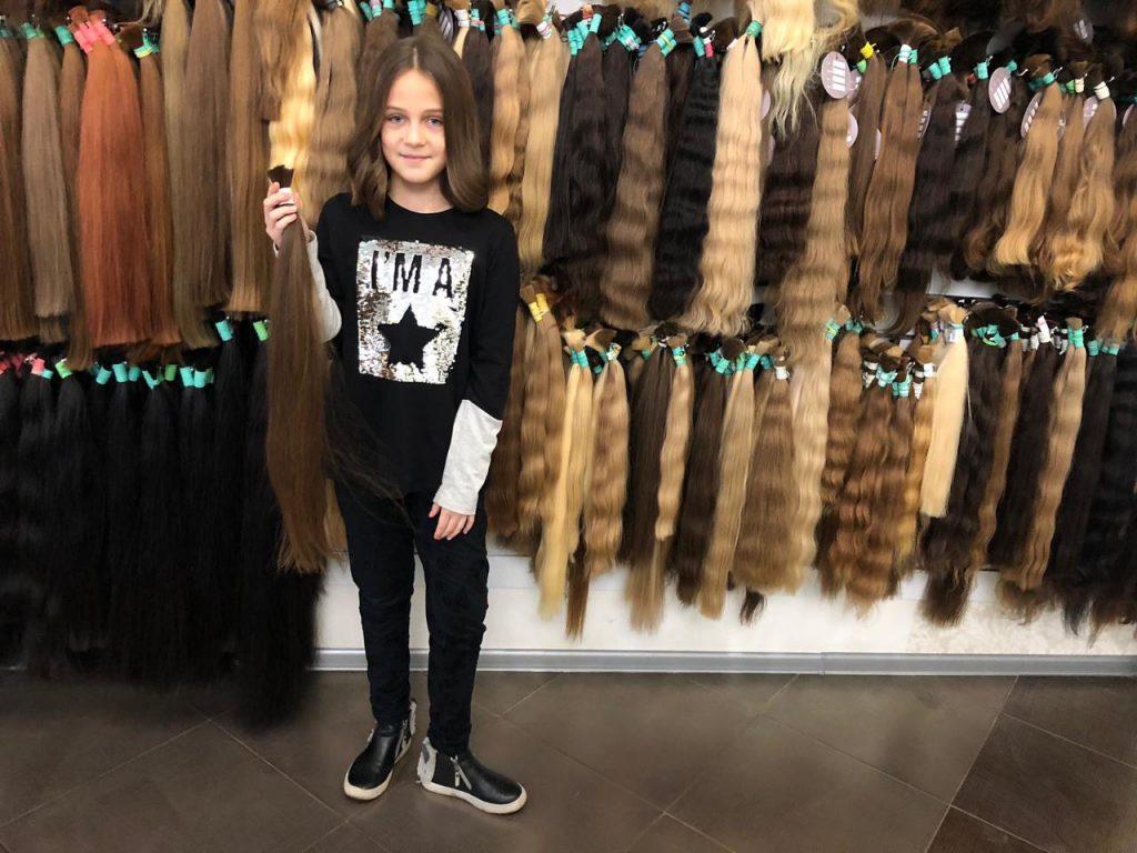 Skup włosów dziecięcych